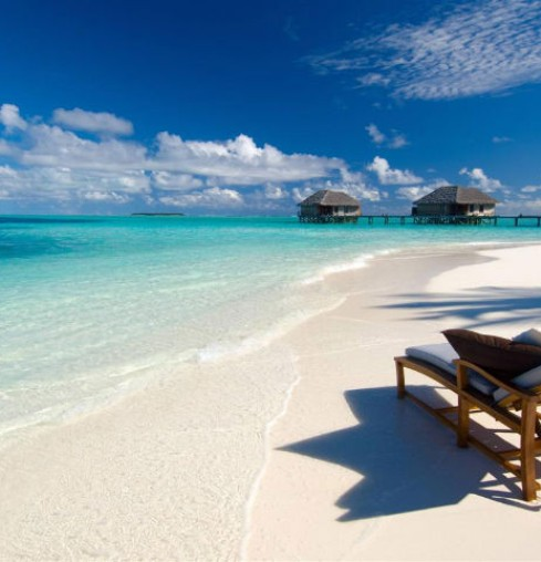 Maldive beach