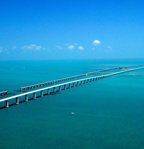 Miami - Key West Seven Miles Bridge