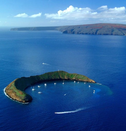 Hawaii Molokini Crater